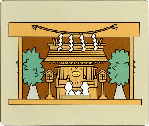 お札のまつり方 イメージ