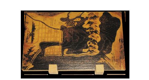 住吉神社  博多古図