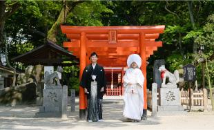 住吉神社  神前結婚式 予約の流れ