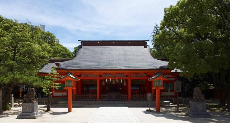 住吉神社  本殿