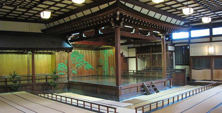 住吉神社  能楽殿 舞台