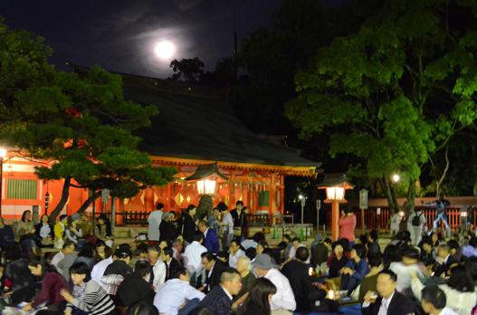 秋の祭事 例大祭(相撲会大祭)