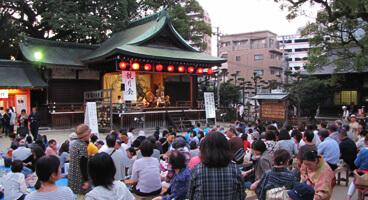 住吉神社  観月会