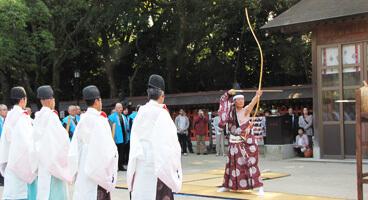 住吉神社  歩射祭