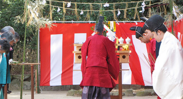 住吉神社  御田祭