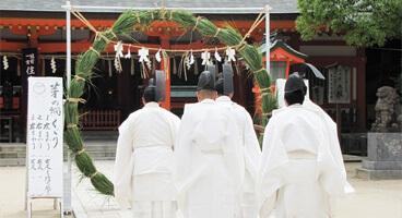 住吉神社  名越大祭
