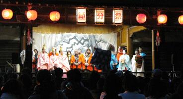 住吉神社  節分祭