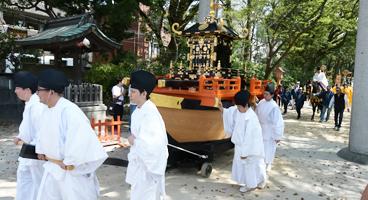 住吉神社  潮干祭
