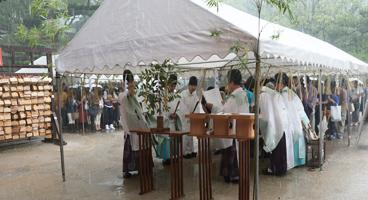 住吉神社  大祓式