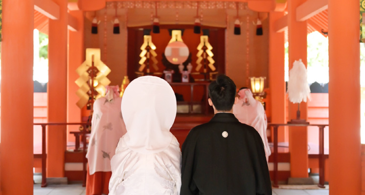 住吉神社  本殿結婚式